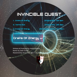 GTA0027, Invincible Quest – Grains Of Energy EP [GTA Records]