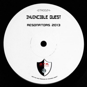 GTA0024, Invincible Quest – Resonators (2013 Edit) GTA Records