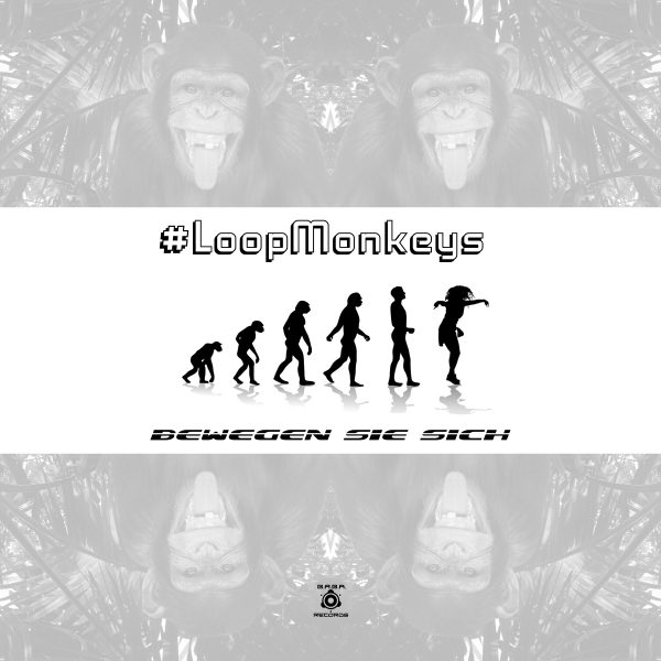 [OUT NOW] BABAREC216 : #LoopMonkeys – Bewegen Sie Sich EP [B.A.B.A. Records]